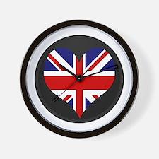 I love United Kingdom Flag Wall Clock