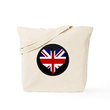 I love United Kingdom Flag Tote Bag