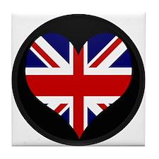 I love United Kingdom Flag Tile Coaster