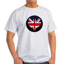 I love United Kingdom Flag T-Shirt