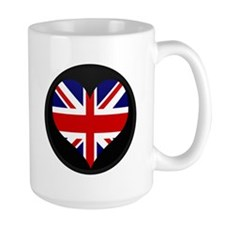 I love United Kingdom Flag Mug
