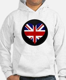 I love United Kingdom Flag Hoodie