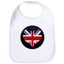 I love United Kingdom Flag Bib