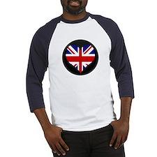 I love United Kingdom Flag Baseball Jersey