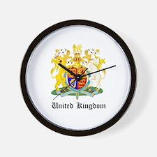 Ukranian Coat of Arms Seal Wall Clock