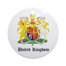 Ukranian Coat of Arms Seal Ornament (Round)