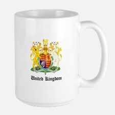 Ukranian Coat of Arms Seal Large Mug