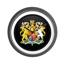 Coat of Arms of United Kingd Wall Clock