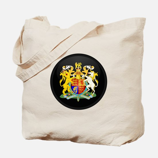 Coat of Arms of United Kingd Tote Bag