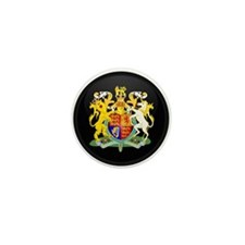 Coat of Arms of United Kingd Mini Button