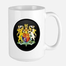 Coat of Arms of United Kingd Large Mug
