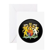 Coat of Arms of United Kingd Greeting Card