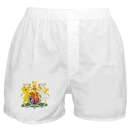 United Kingdom Coat of Arm Boxer Shorts