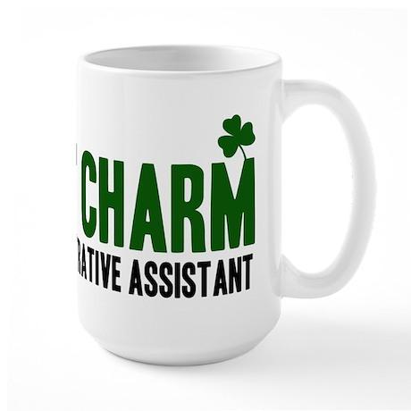 Administrative Assistant luck Large Mug
