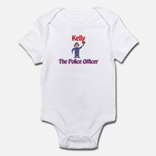 Kelly - Police Officer Infant Bodysuit