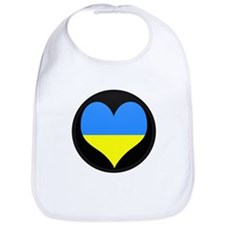 I love ukraine Flag Bib