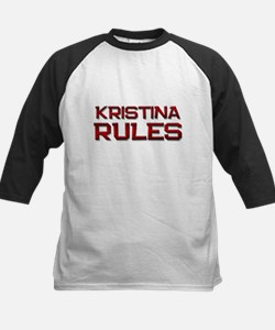kristina rules Kids Baseball Jersey