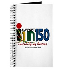 I Support 1 In 150 & My Sisters Journal