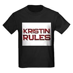 kristin rules T