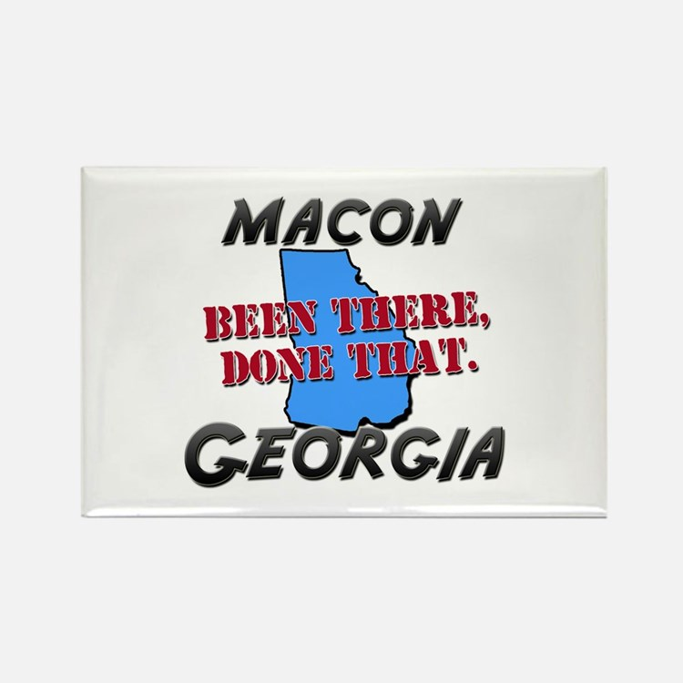 macon georgia - been there, done that Rectangle Ma