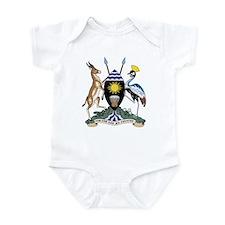 uganda Coat of Arms Infant Bodysuit