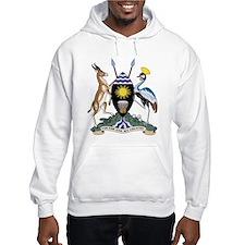 uganda Coat of Arms Hoodie