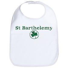 St Barthelemy shamrock Bib