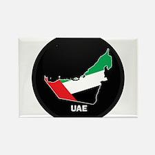 Flag Map of UAE Rectangle Magnet