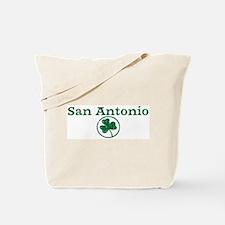 San Antonio shamrock Tote Bag