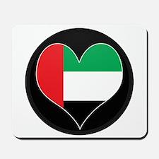 I love UAE Flag Mousepad