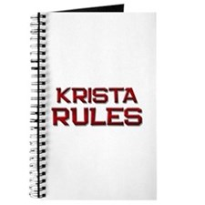krista rules Journal