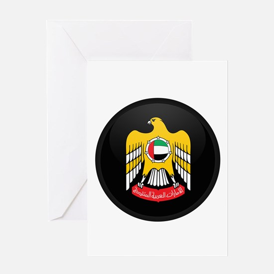 Coat of Arms of UAE Greeting Card