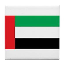 UAE Flag Tile Coaster