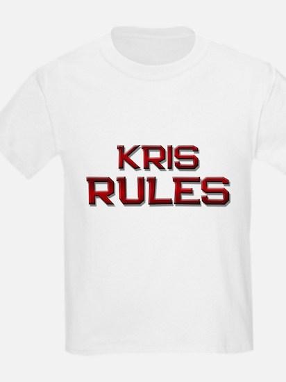 kris rules T-Shirt