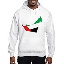 UAE Flag Map Hoodie