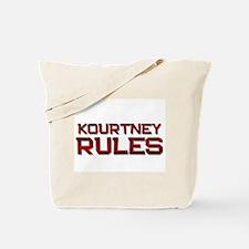 kourtney rules Tote Bag