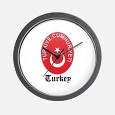 Turk Coat of Arms Seal Wall Clock