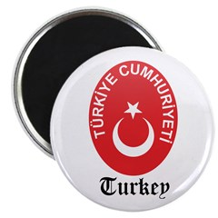 Turk Coat of Arms Seal Magnet
