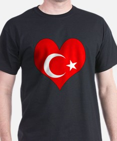 I Love Turkey T-Shirt