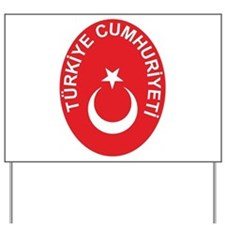 Turkey Coat of Arms Yard Sign
