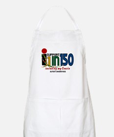 I Support 1 In 150 & My Cousin BBQ Apron