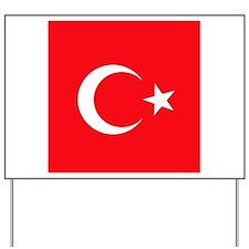Turk Yard Sign