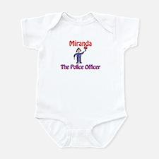 Miranda - Police Officer Infant Bodysuit
