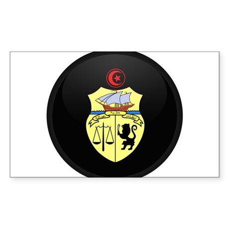 Coat of Arms of Tunisia Rectangle Sticker