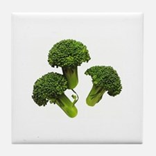 Broccoli Tile Coaster