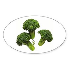 Broccoli Oval Decal
