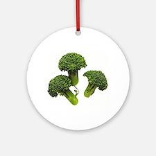 Broccoli Ornament (Round)