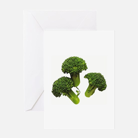 Broccoli Greeting Card