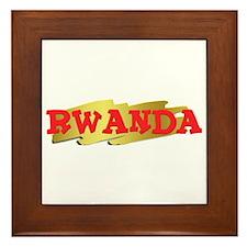 Rwanda Goodies Framed Tile