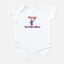 Morgan - Police Officer Infant Bodysuit
